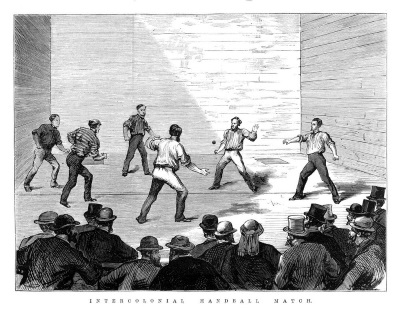 Intercolonial Handball Match