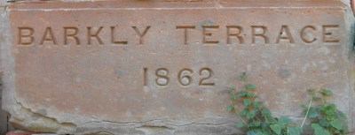 Lintel from Barkly Terrace